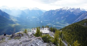 Peak of Sulphur Mountain