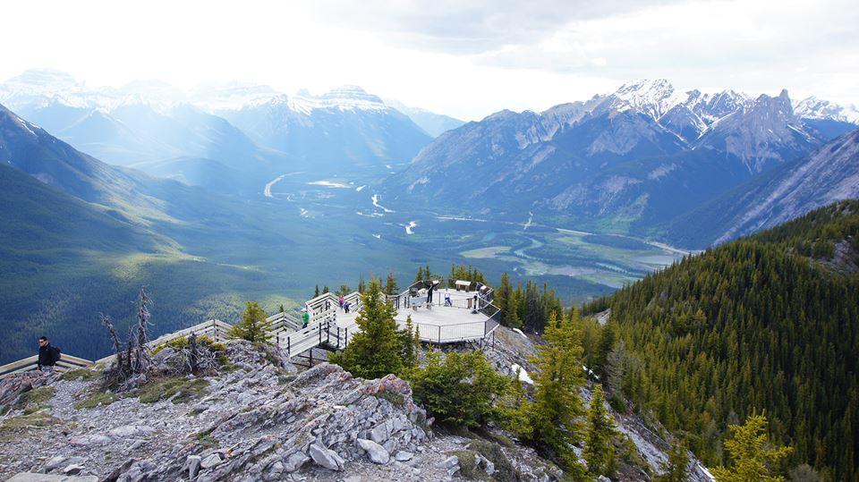 Peak of Sulphur Mountain